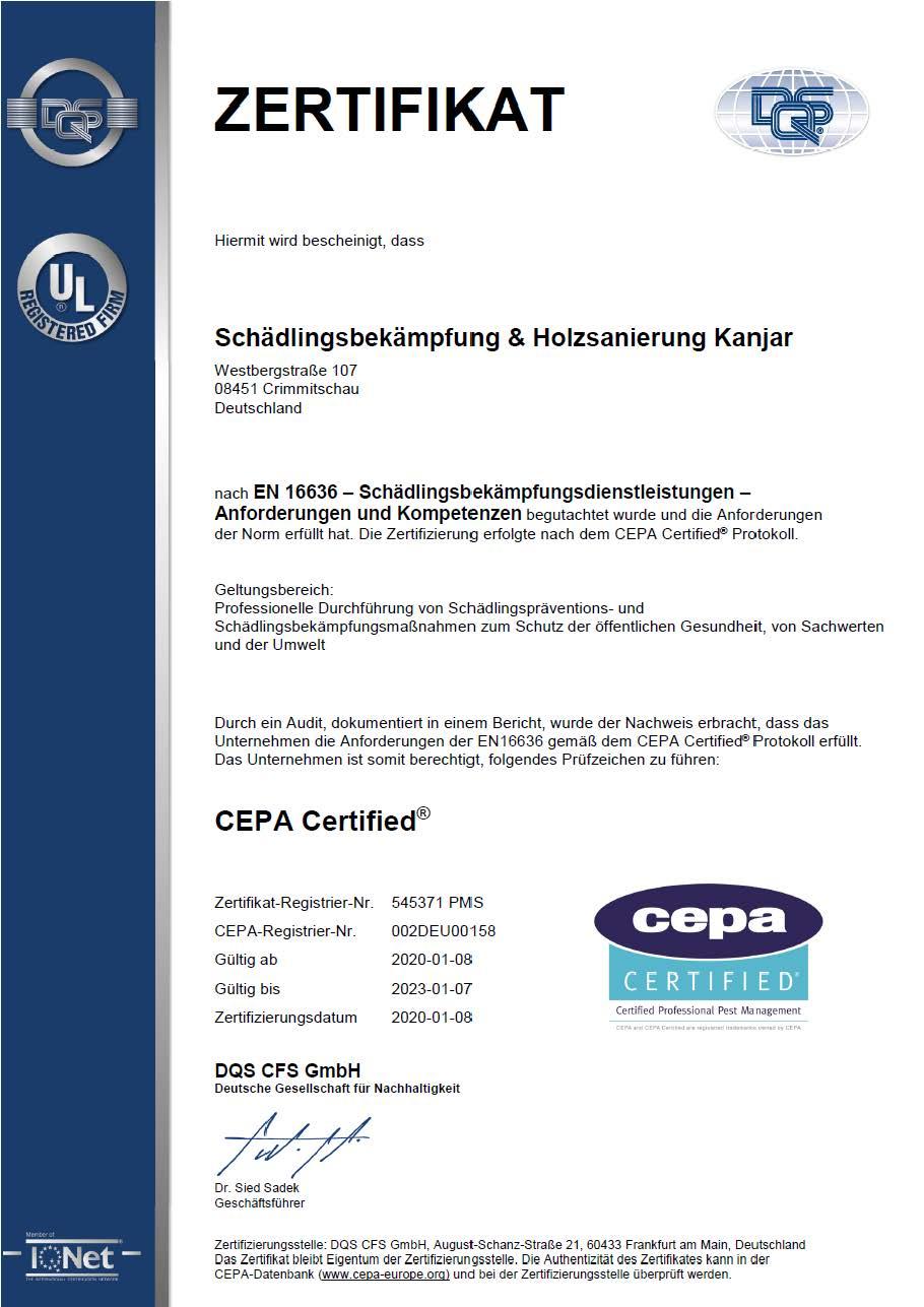 Zertifikat-Din-16636-Schädlingsbekämpfung-Kanjar